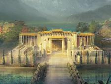 Shangri La:title card