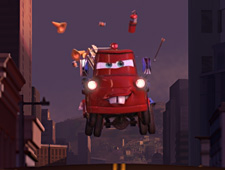 Cars-toons: Matte Painting